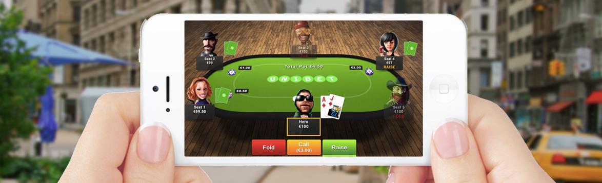 Mobile Poker App Experience Unibet Online Poker